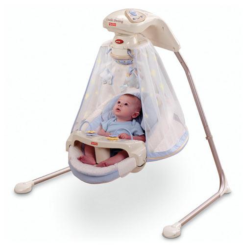 качели для малыша