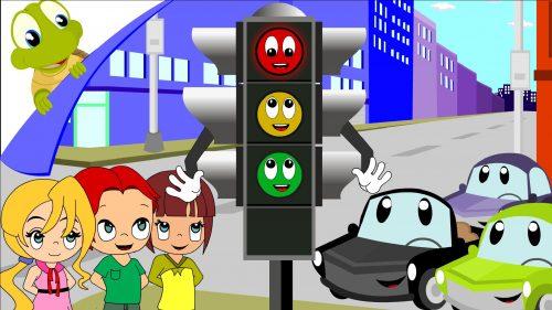 светофор картинка для детей