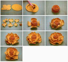 объемные цветы из бумаги4