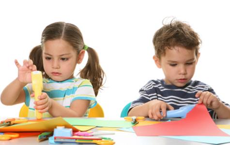 дети в частном детском саду в Москве