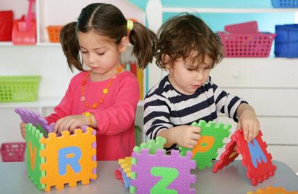 дети в частном детском саду в Москве2