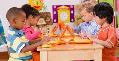 дети в частном детском саду в Москве3