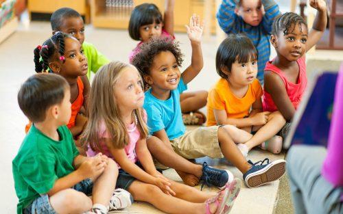 дети в частном детском саду в Москве5