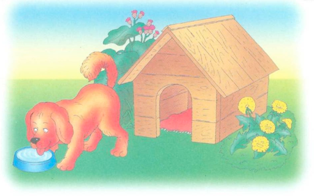 картинка с предлогом собачья конура 1