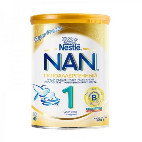 гипоаллергенная смесь нан 1