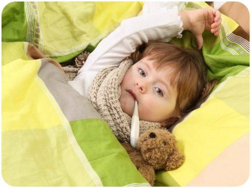 гриппоподобный тип заболевания у детей