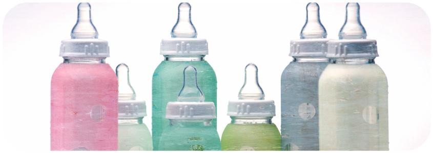 кисломолочные смеси в бутылочках
