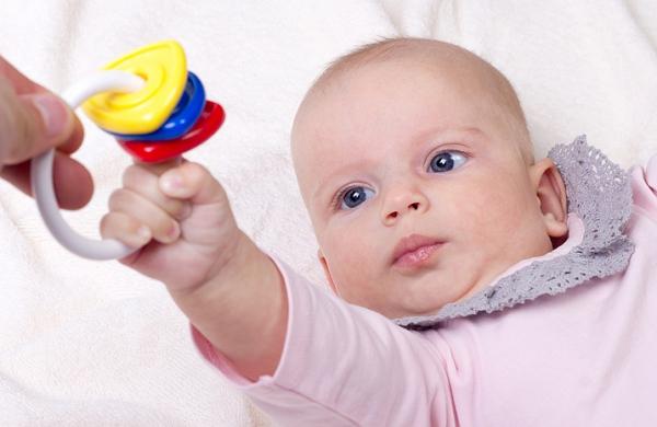 игры с трехмесячным малышом