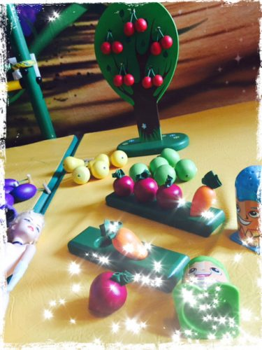 Необычная и очень полезная детская игрушка «Соберу я урожай»