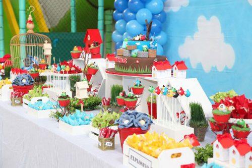 оформление стола на детский день рождения фото5