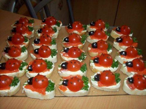 фото блюд на детский день рожденья8