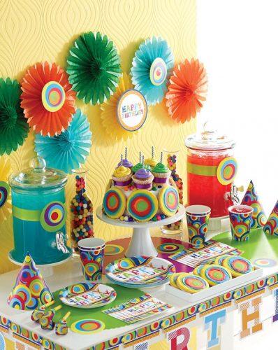 оформление стола на детский день рождения фото4