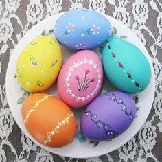 роспись пасхальных яиц для детей картинки8