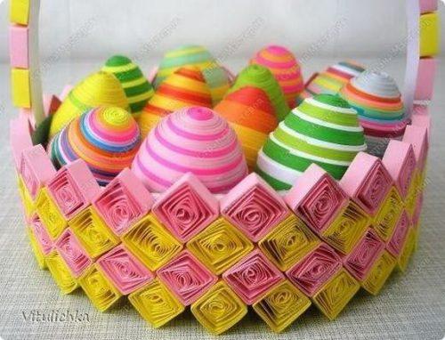 поделка пасхальное яйцо своими руками для детей9