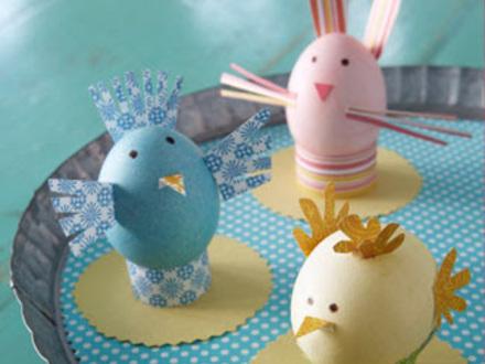 поделка пасхальное яйцо своими руками для детей3