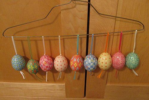 поделка пасхальное яйцо своими руками для детей2