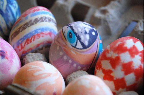 роспись пасхальных яиц для детей картинки4