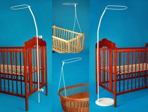 Крепление для балдахина на детскую кроватку