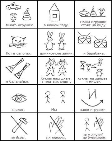 Мнемотаблицы для дошкольников6