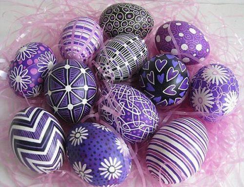 узоры для пасхальных яиц для детей8
