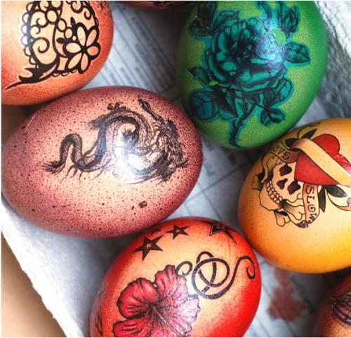 узоры для пасхальных яиц для детей9