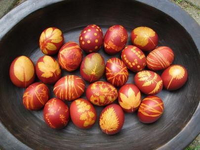 узоры для пасхальных яиц для детей2
