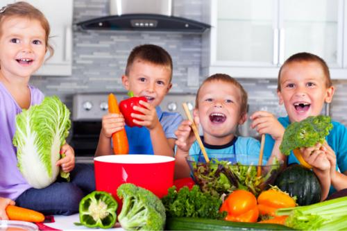 дети и овощи