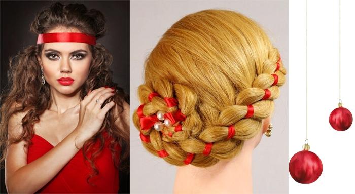 Прическа на новый год 2017 фото своими руками на длинные волосы