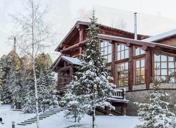 Алтай-резорт зимой