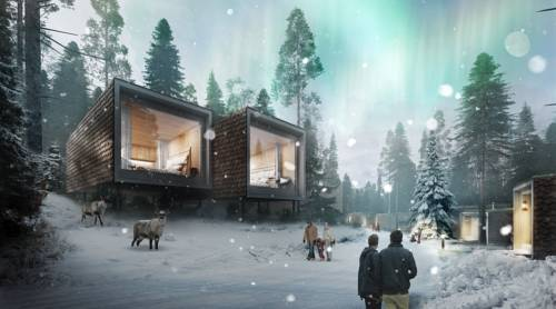 Arctic treehouse лапландия