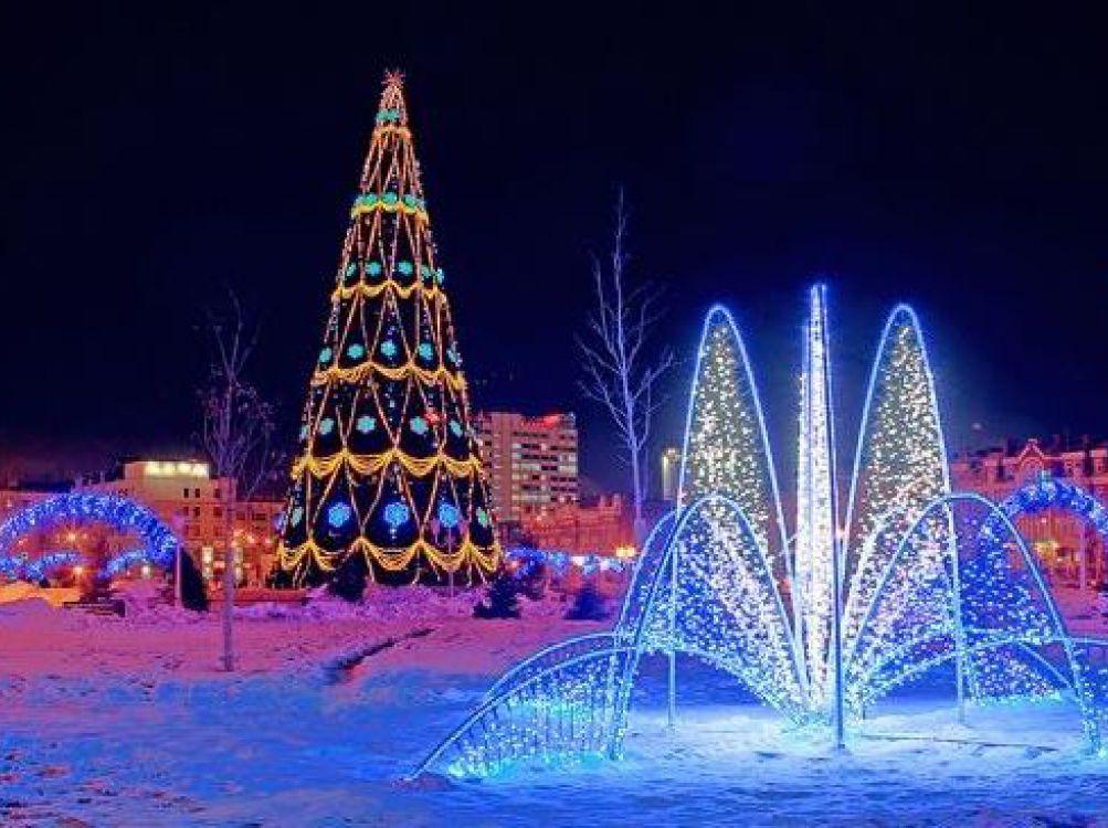 Казань новый год зима