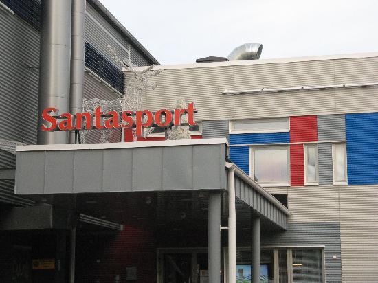 Santasport отель лапландия