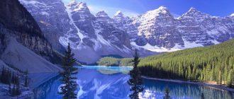 Алтай зимой природа