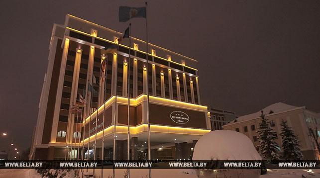 Белоруссия президент отель зимой
