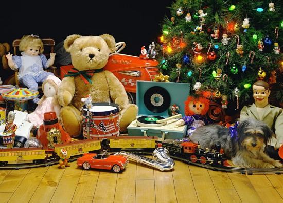 игрушки в сад на новый год