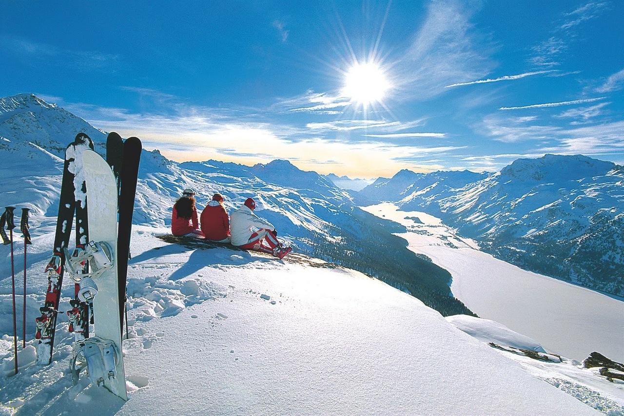 Домбай зимой природа