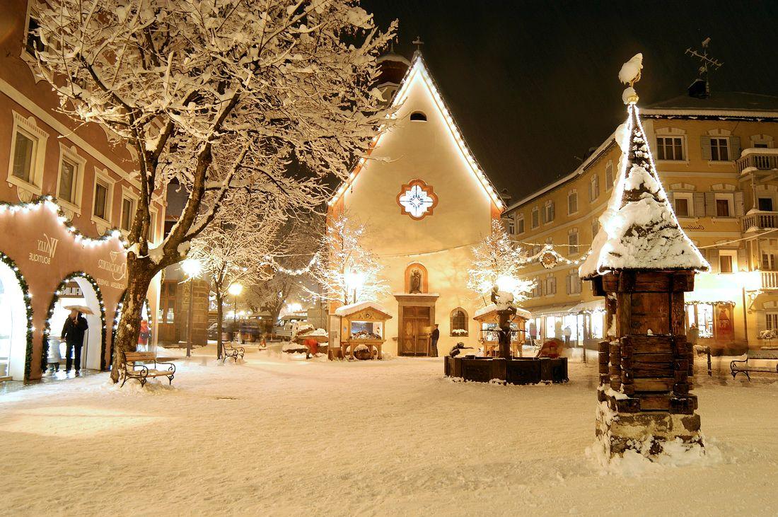 Европа новый год зимой