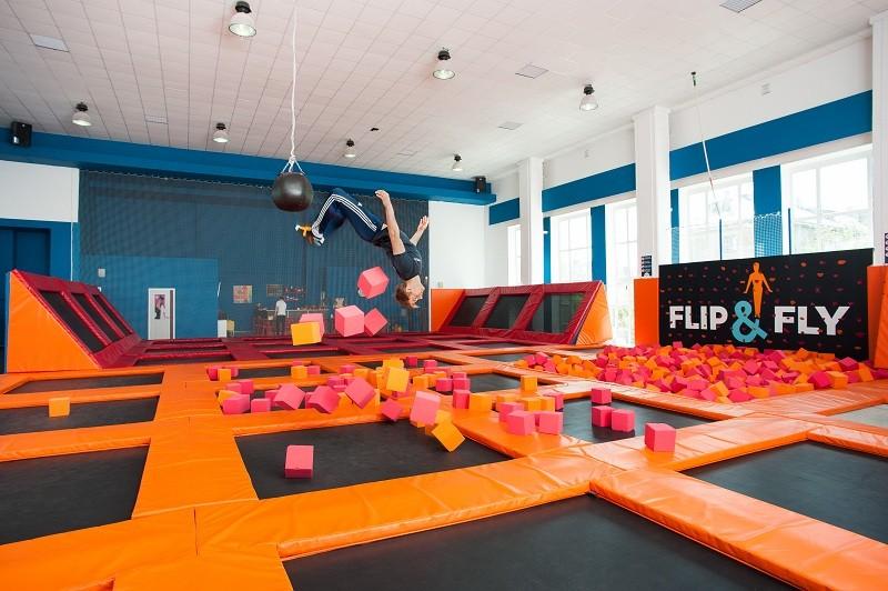 Flip and fly батутный центр