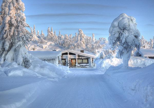 Лапландия зимой