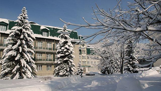 санаторий в белоруссии зимой