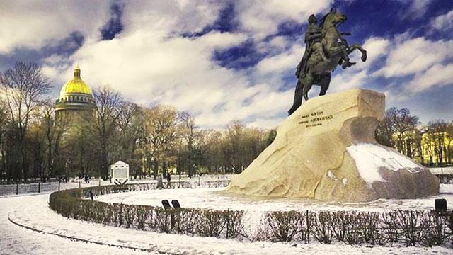 Санкт петербург зимой1