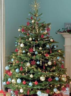 как наряжать елку на новый 2017 год